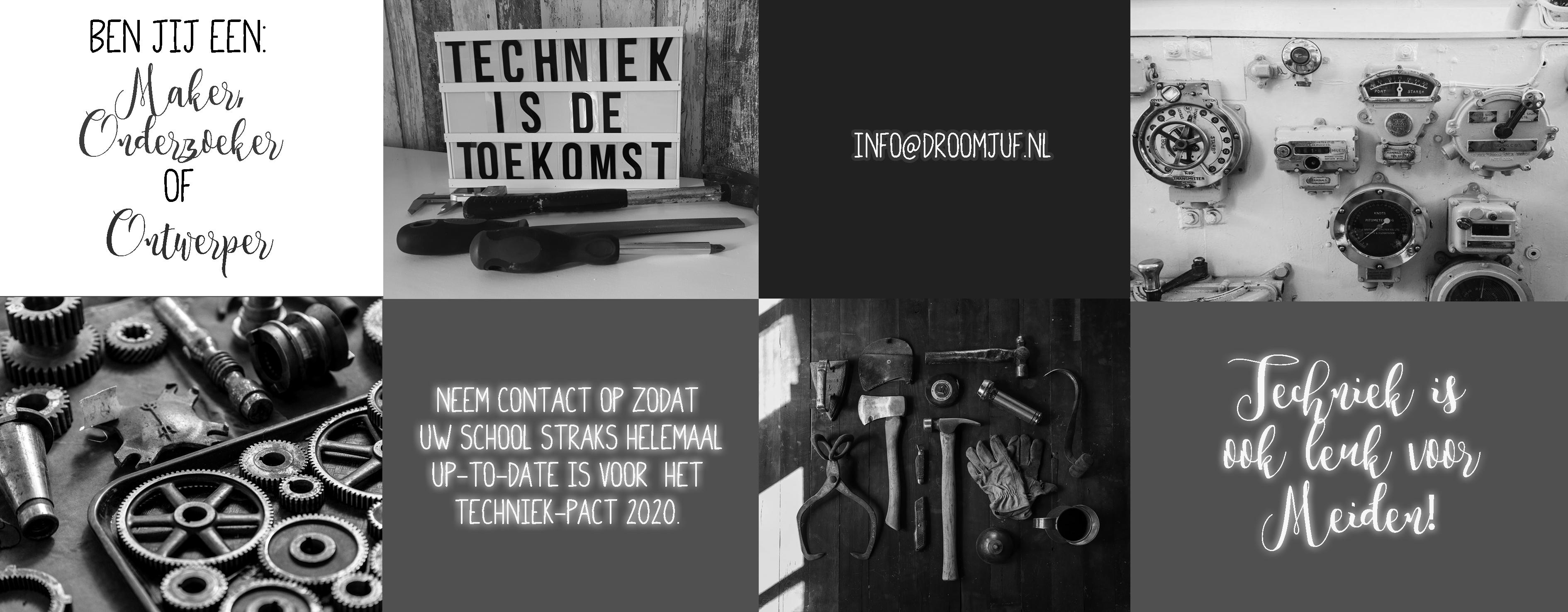 Uitzonderlijk Techniek in de klas – Droomjuf.nl QG58